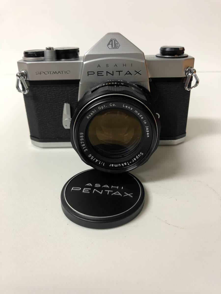 カメラ PENTAX SPOTMATIC SP ペンタックス TAKUMAR 1:1.4 / 50 m21018