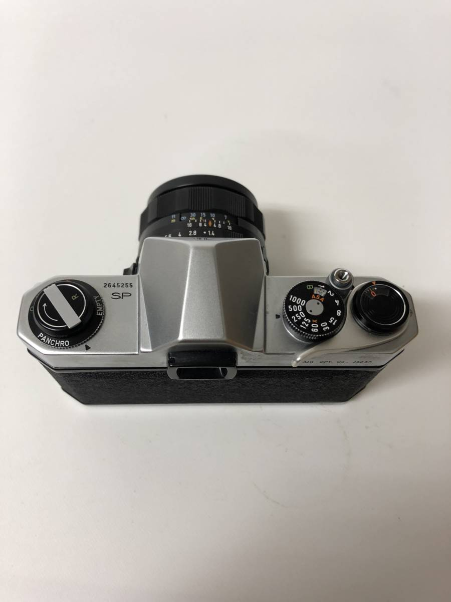 カメラ PENTAX SPOTMATIC SP ペンタックス TAKUMAR 1:1.4 / 50 m21018_画像3