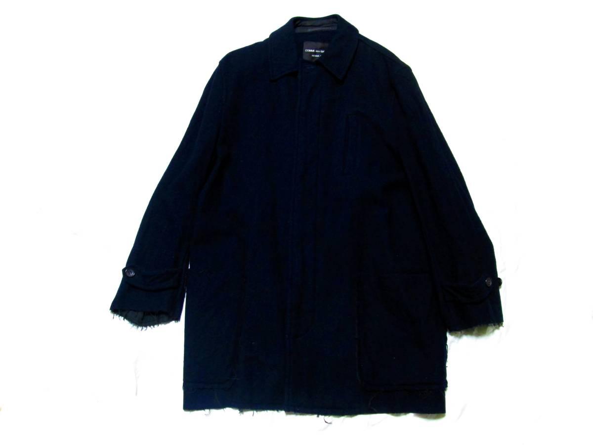 貴重 コムデギャルソン プリュス 1994 初期縮絨 コート パンツ コレクション オム EYE JUNYA サンプル_画像2
