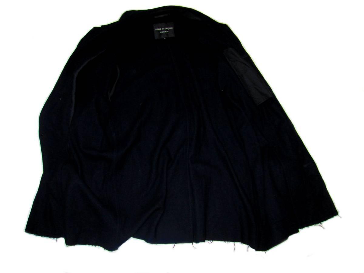 貴重 コムデギャルソン プリュス 1994 初期縮絨 コート パンツ コレクション オム EYE JUNYA サンプル_画像3