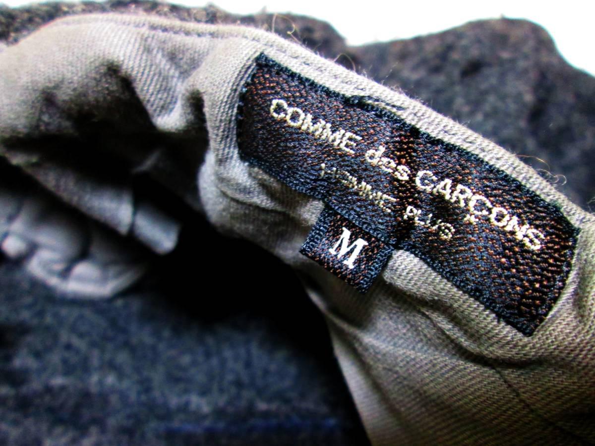 貴重 コムデギャルソン プリュス 1994 初期縮絨 コート パンツ コレクション オム EYE JUNYA サンプル_画像8