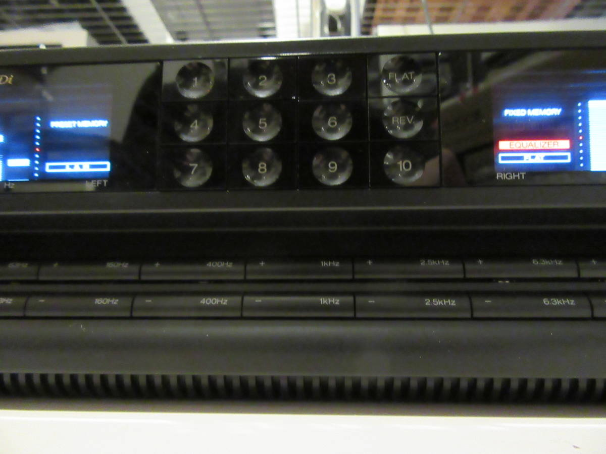 SANSUI G-700Di 7バンド ステレオグラフィックイコライザー 中古品 内部清掃 接点洗浄 メンテナンス施行 音出し動作確認済 ゆうパック発送_画像3