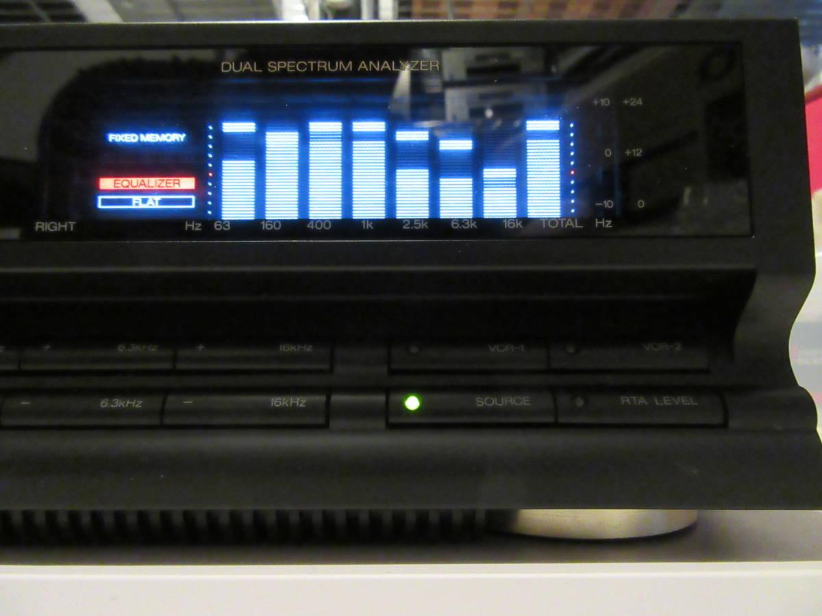 SANSUI G-700Di 7バンド ステレオグラフィックイコライザー 中古品 内部清掃 接点洗浄 メンテナンス施行 音出し動作確認済 ゆうパック発送_画像4