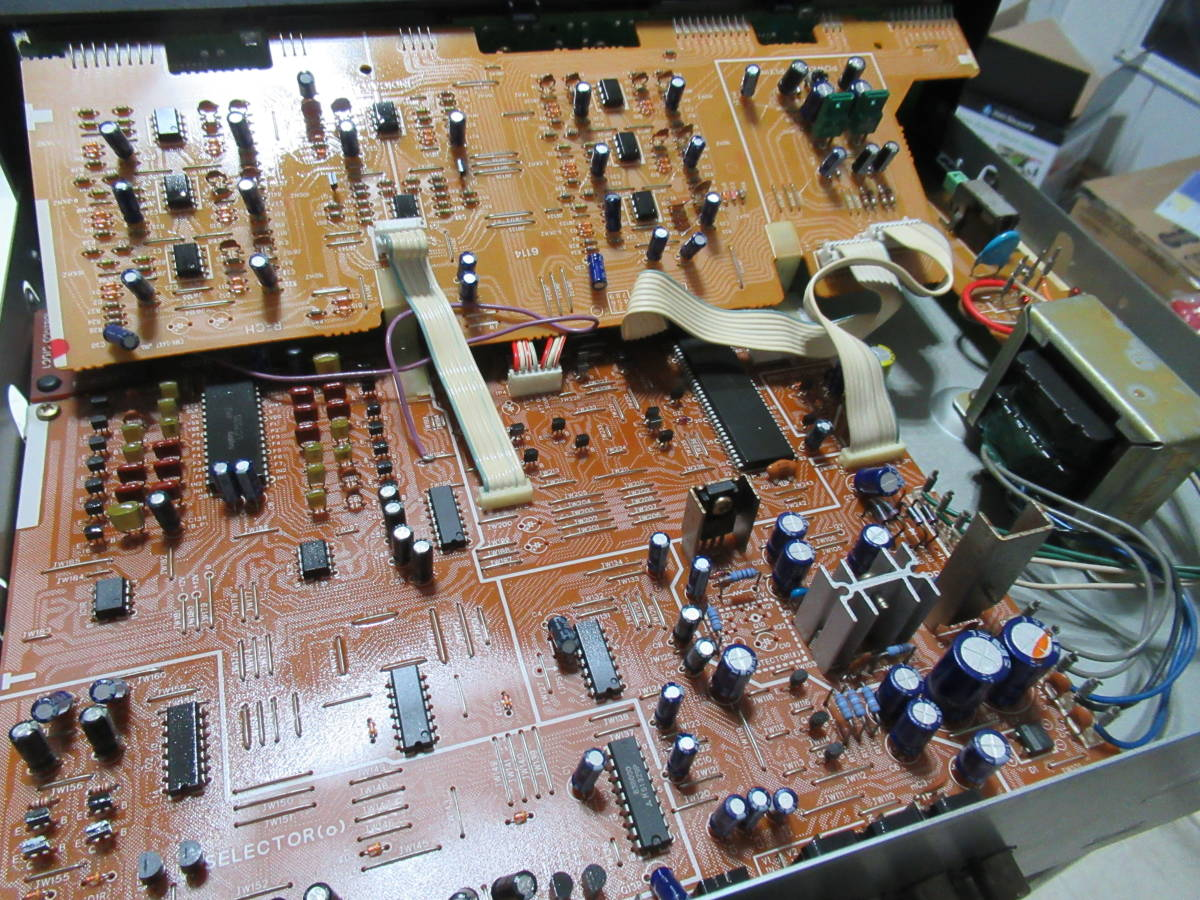 SANSUI G-700Di 7バンド ステレオグラフィックイコライザー 中古品 内部清掃 接点洗浄 メンテナンス施行 音出し動作確認済 ゆうパック発送_画像10