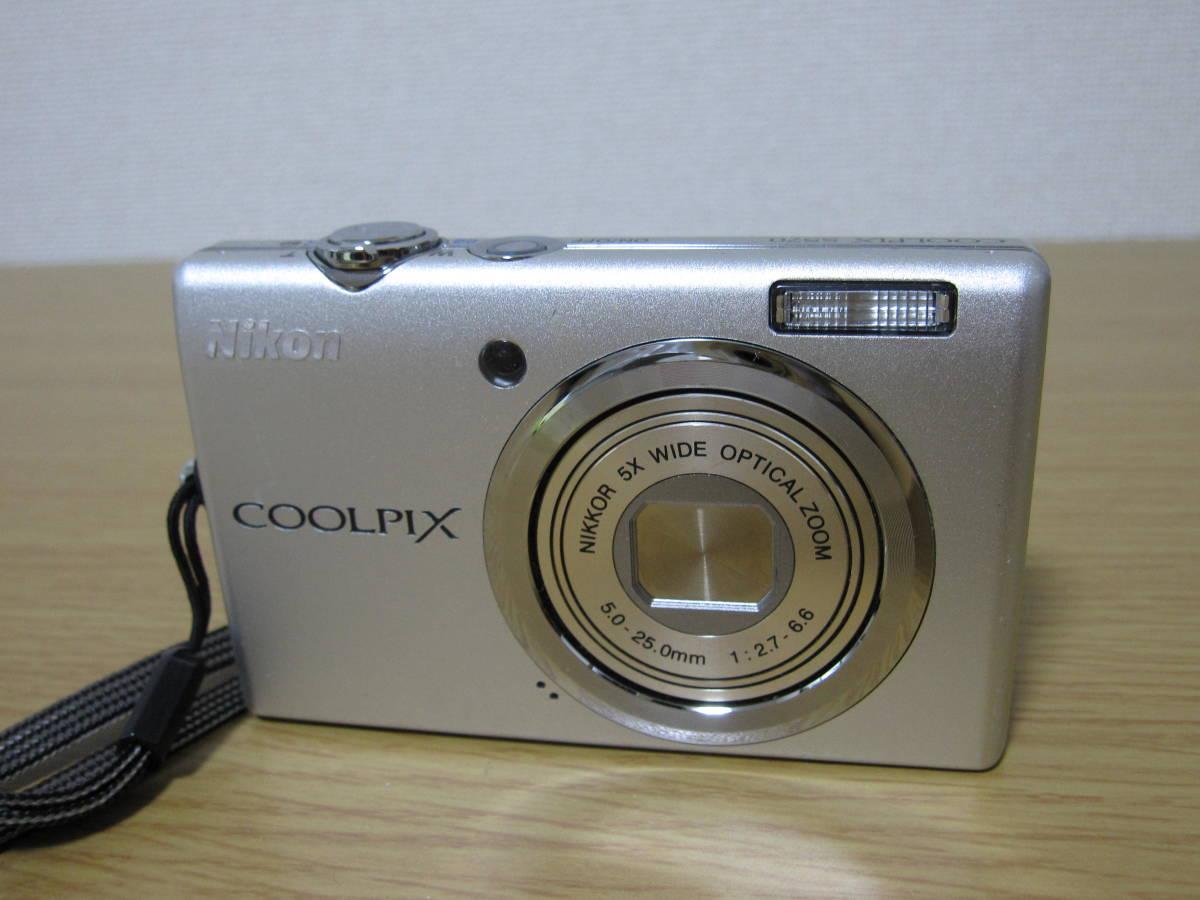 Nikon COOLPIX S570 動作確認済 SD対応