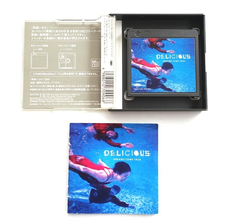 ☆ MD 希少品☆ DREAMS COME TRUE ドリームズ・カム・トゥルー ☆ DELICIOUS ☆ Mini Disc_画像2