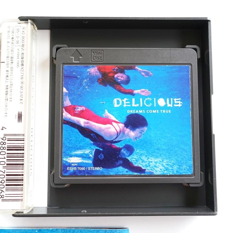 ☆ MD 希少品☆ DREAMS COME TRUE ドリームズ・カム・トゥルー ☆ DELICIOUS ☆ Mini Disc_画像3