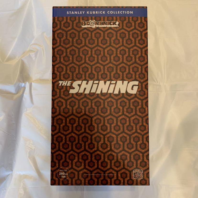 新品送料込/メディコム・トイ(MEDICOM TOY)/BE@RBRICK(ベアブリック)/400%/ The Shining(シャイニング)/オーバールックホテル/カーペット柄_画像2