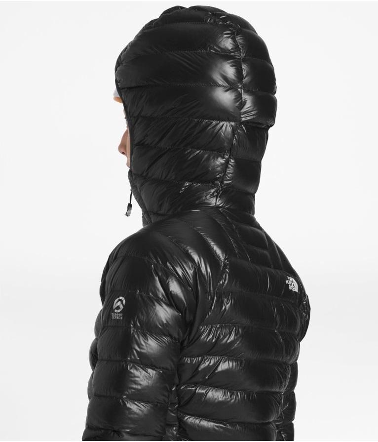♪最高峰 The North Face Summit L3 ノースフェイス サミット ダウンジャケット フード付き 800フィルパワー 女性用 M 黒 NEW 正規品 ★