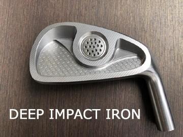 ◆Golfoo◆組立工賃込・送料無料◆ムジーク muziik ディープインパクト DEEP IMPACT アイアン Iron #4~PW 7個セット