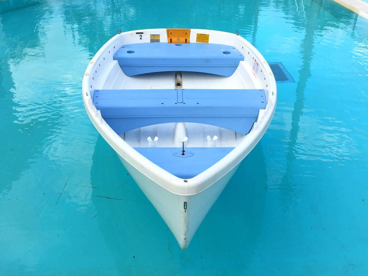 【1万円売切】 小型ボート Walker Bay 10ft +5馬力船外機 ※引き取り限定です。_画像2
