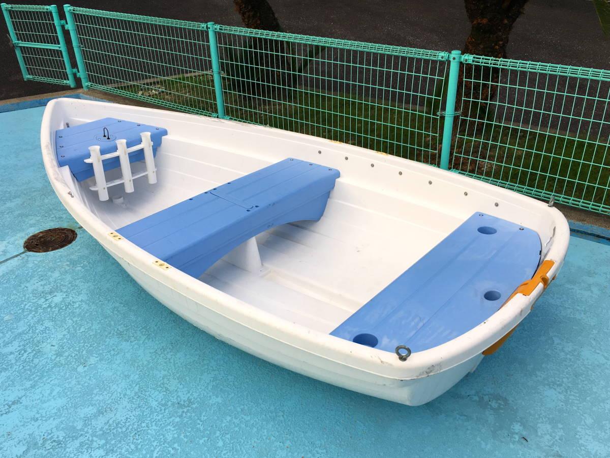 【1万円売切】 小型ボート Walker Bay 10ft +5馬力船外機 ※引き取り限定です。_画像4