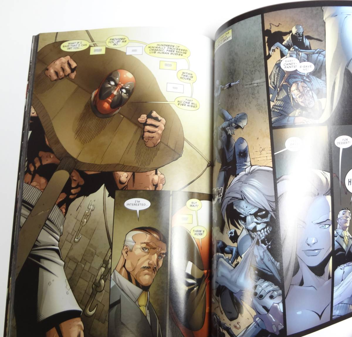 【即決】英語★デッドプール★Deadpool Secret Invasion★アメコミ コミック 漫画 洋書[23]_画像4