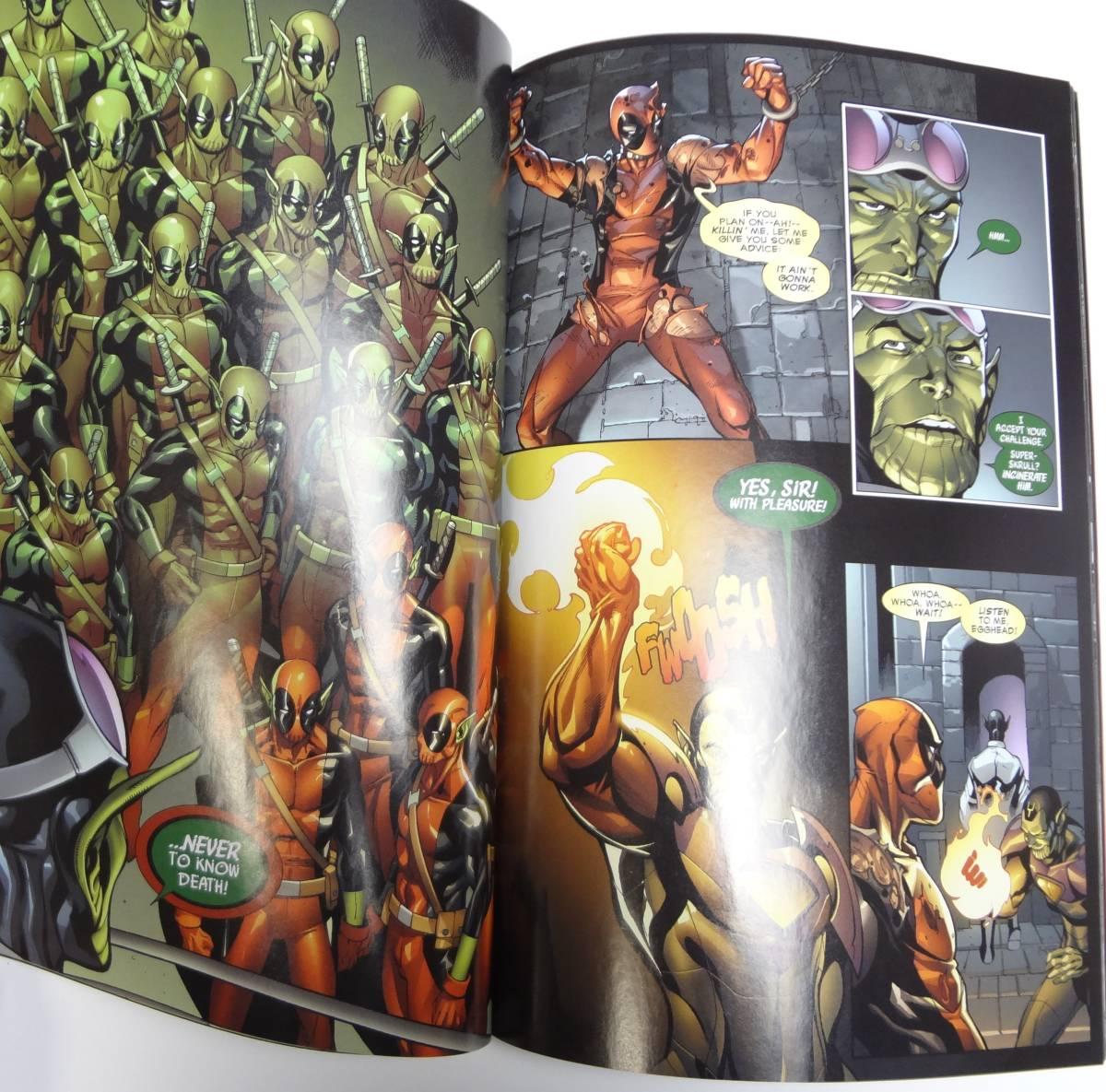 【即決】英語★デッドプール★Deadpool Secret Invasion★アメコミ コミック 漫画 洋書[23]_画像2