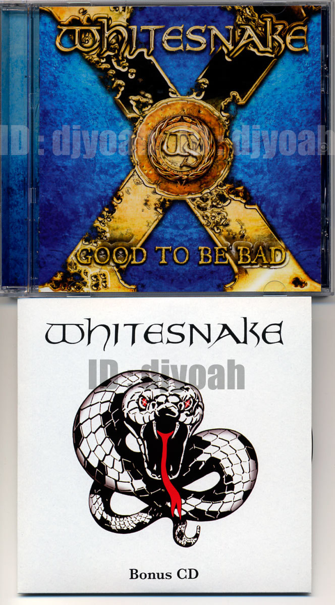 (2CD) ドイツ盤 ☆ WHITESNAKE / GOOD TO BE BAD (Limited Edition Box Set)☆ 箱とCDのみ その他の付属品なし, Doug Aldrich, Reb Beach_画像3