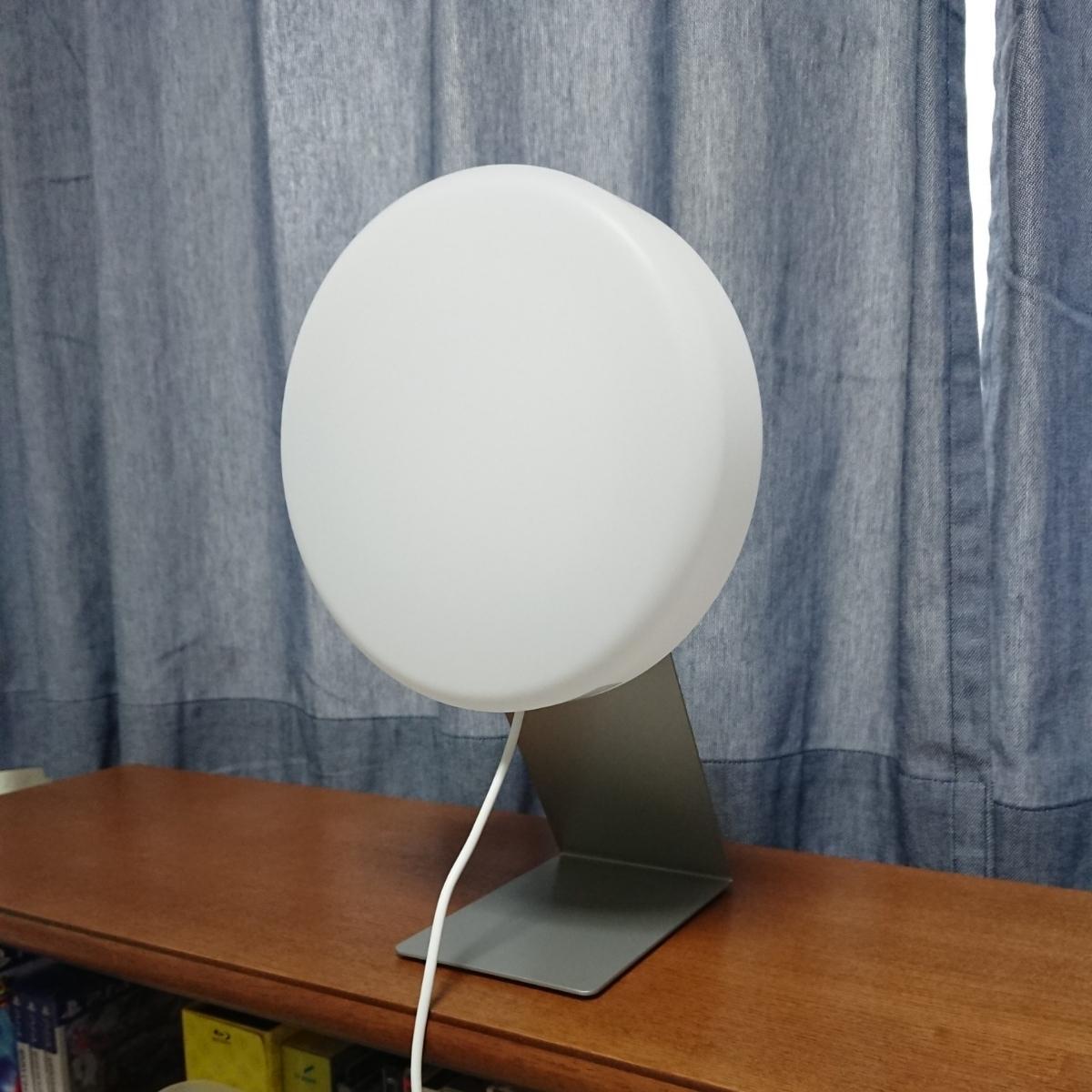 無印良品 壁掛式LED照明 壁掛時計・壁掛式CDプレイヤー用スタンド セット 美品 動作問題