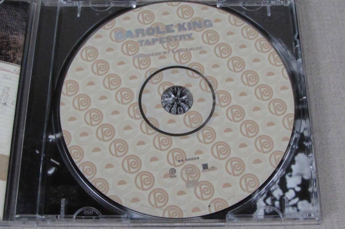 中古CD キャロル・キング つづれおり CAROL KING TAPESTRY 輸入盤_画像4