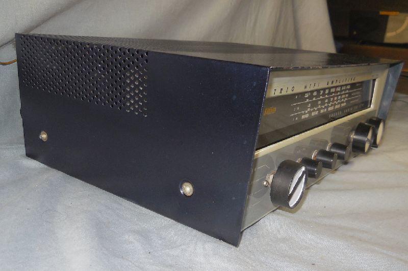 FM-AM3バンド真空管式モノラルレシーバーアンプ・トリオ・TRIO・AF-22・金属キャビネット・感度良好・動作保証_画像7
