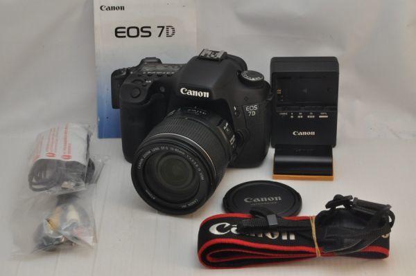 ★ほぼ新品級★CANON EOS 7D ボディ + 15-85mm IS レンズ セット #9254