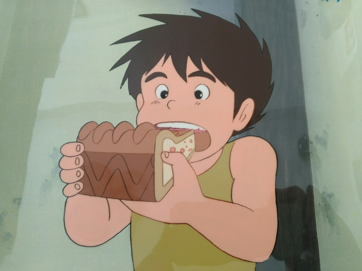【セル画】 未来少年コナン コピー背景付き 宮崎駿_画像3