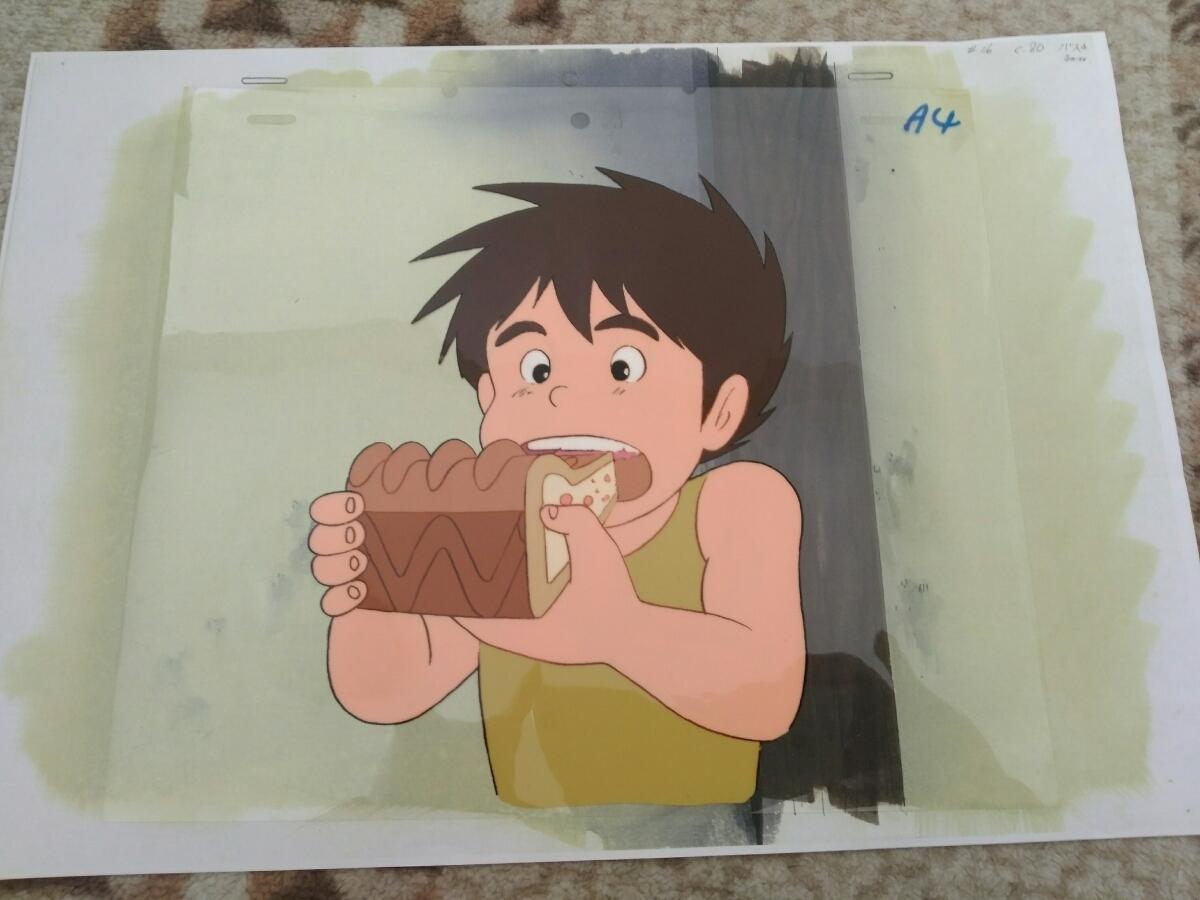 【セル画】 未来少年コナン コピー背景付き 宮崎駿_画像4