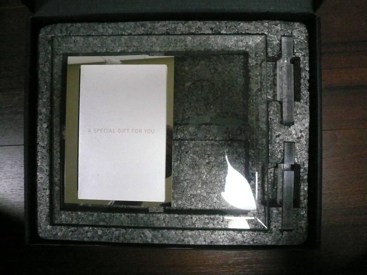 ☆【新品・未使用】ダイナースプレミアム ノベルティ フォトフレーム ガラス製_画像1