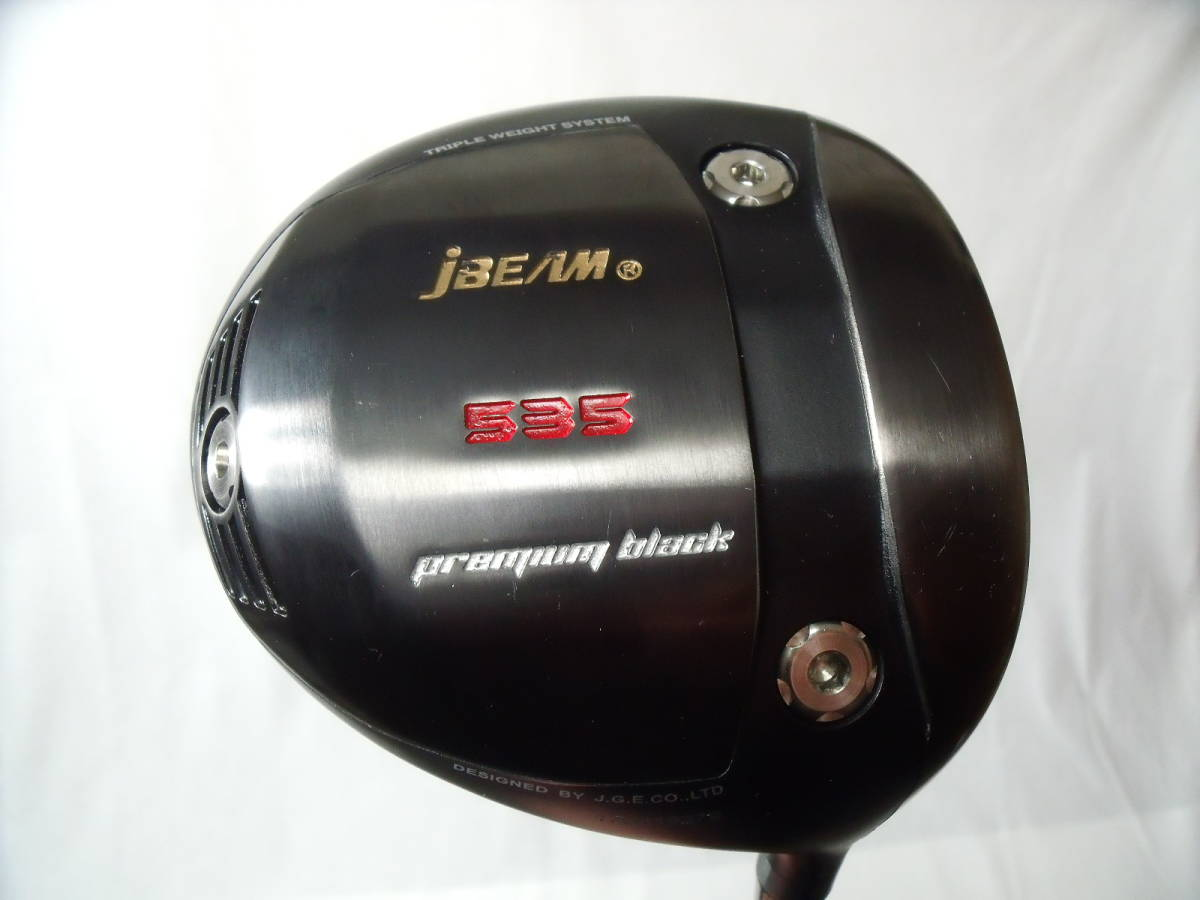 ★美品!jBEAM◆535 Premium black ◆CRAZY REGENESIS CB-46(SR)★