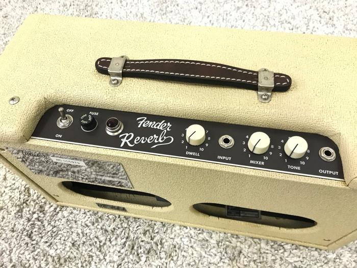 【レア】Fender 63 Reverb TYPE PR263 フェンダー リバーブ 中古 動作品♪_画像7