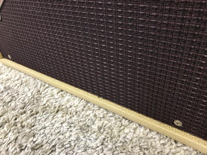 【レア】Fender 63 Reverb TYPE PR263 フェンダー リバーブ 中古 動作品♪_画像3