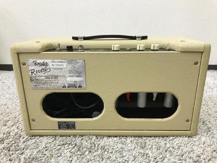 【レア】Fender 63 Reverb TYPE PR263 フェンダー リバーブ 中古 動作品♪_画像6