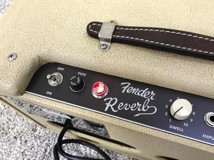 【レア】Fender 63 Reverb TYPE PR263 フェンダー リバーブ 中古 動作品♪_画像8