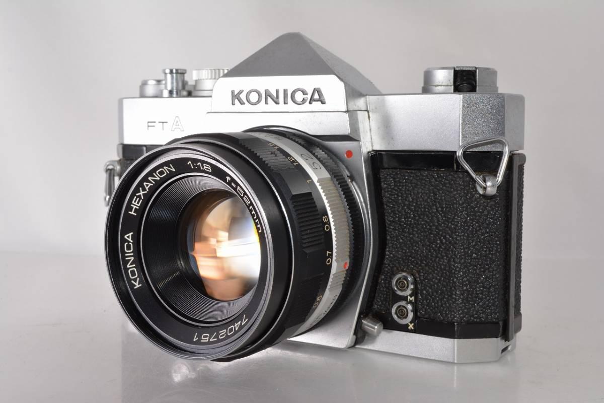 コニカ KONICA FTA +HEXANON 52mm F1.8 #h420y3_画像1