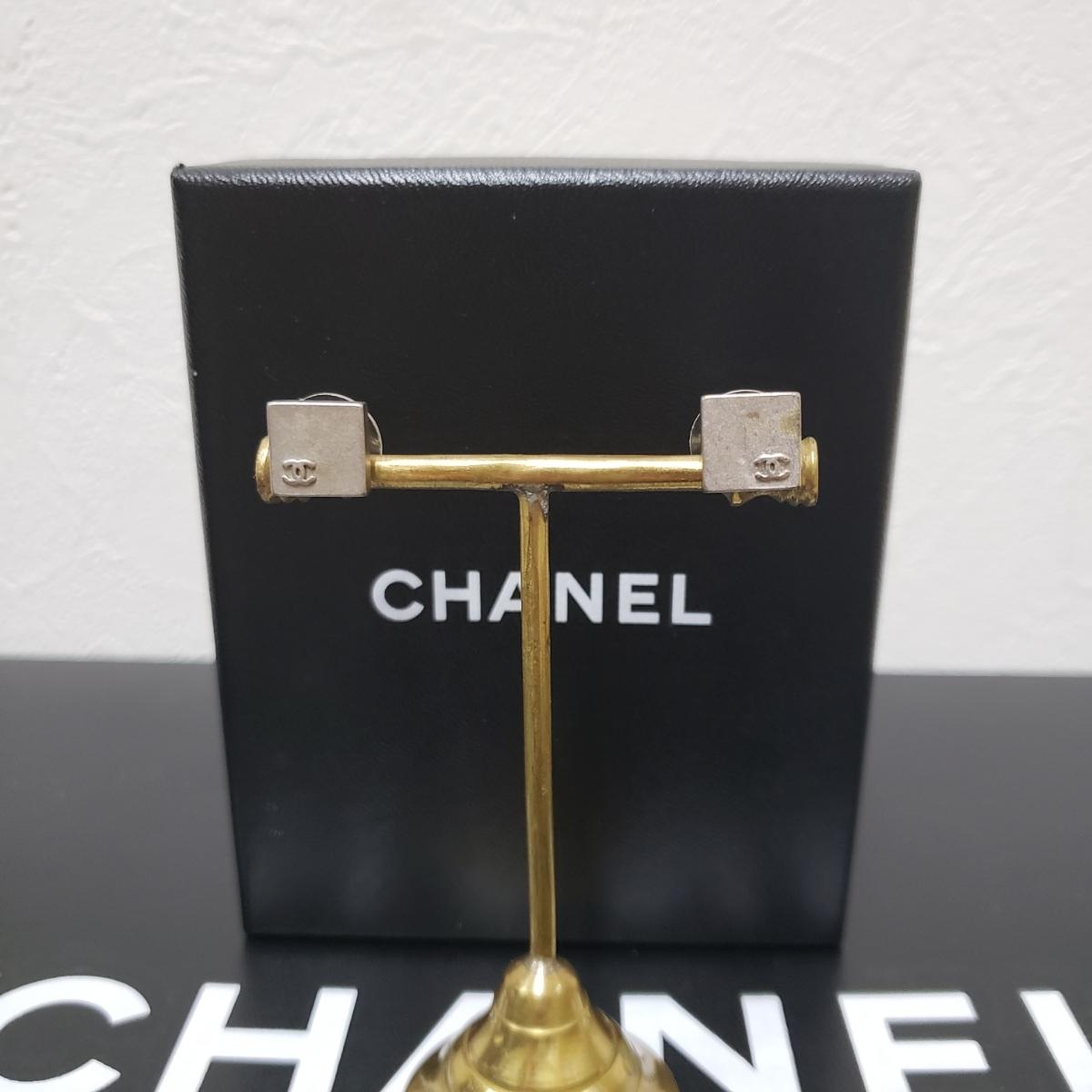 977376f02e83 代購代標第一品牌- 樂淘letao - 確実正規品消毒済みシャネルスクエアピアス