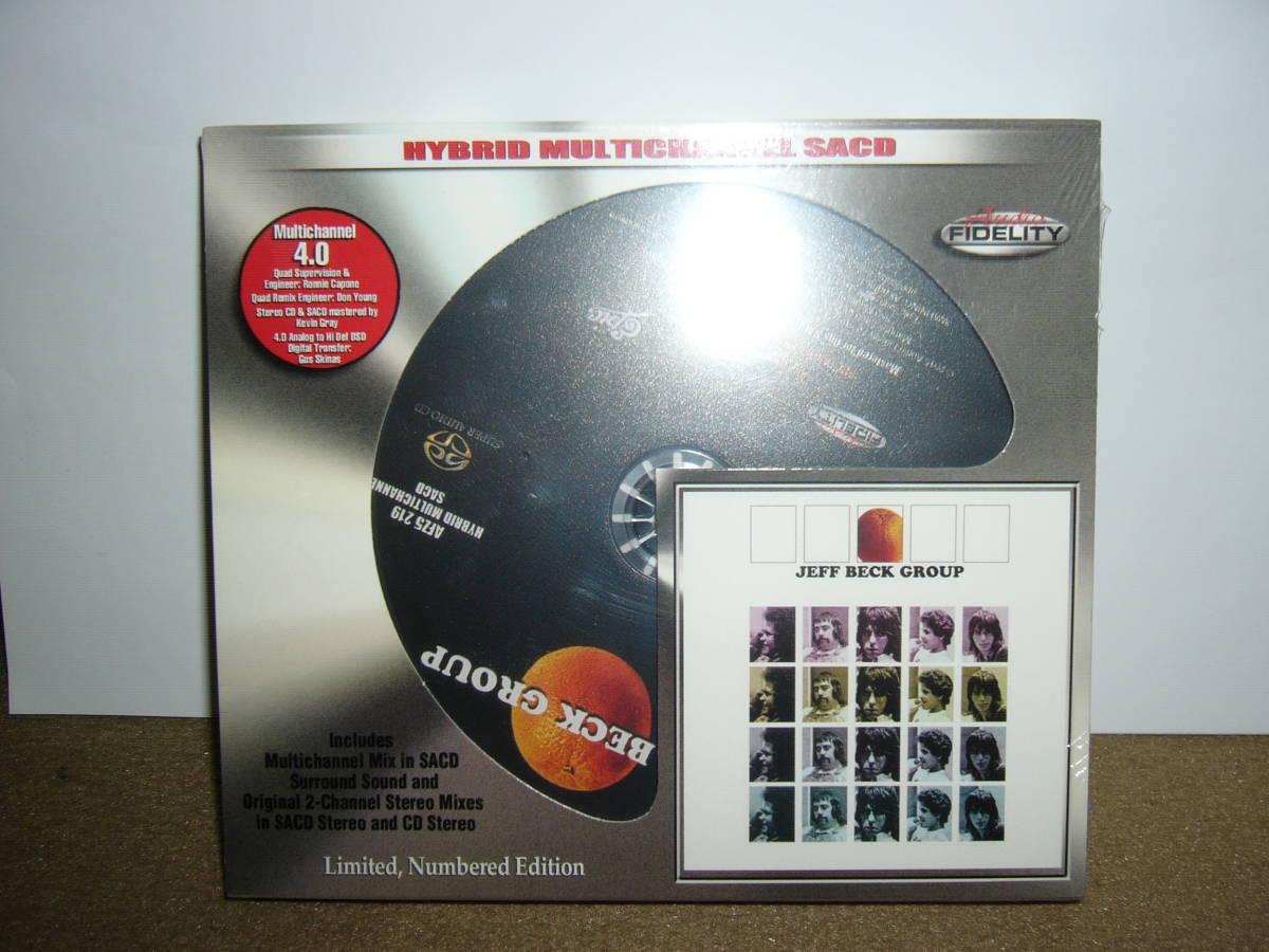名手Cozy Powell/Max Middleton等参加 第二期Jeff Beck Group傑作「Jeff Beck Group」Audio fidelity社SACD仕様盤 輸入盤未開封新品。