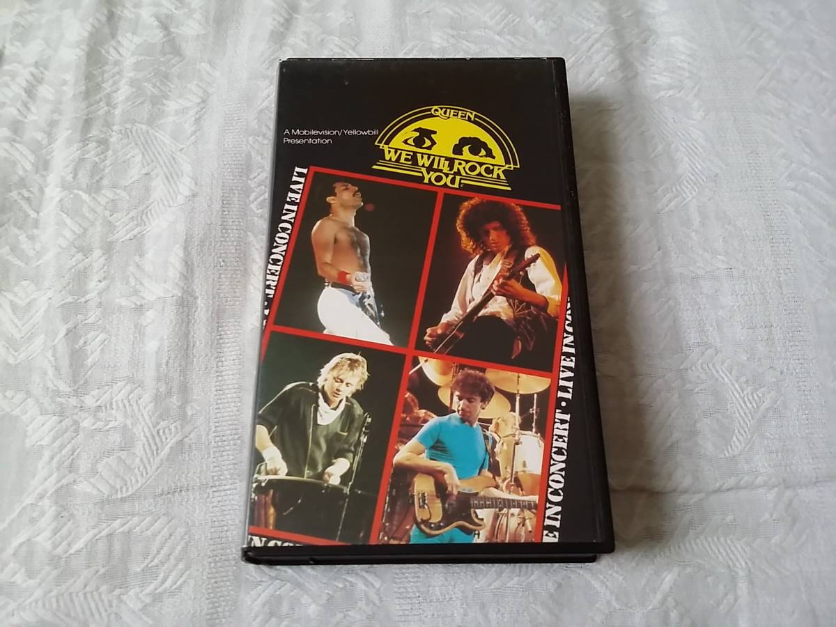 【VHS】Queen クイーン / We Will Rock You ウイ・ウィル・ロック・ユー_画像1