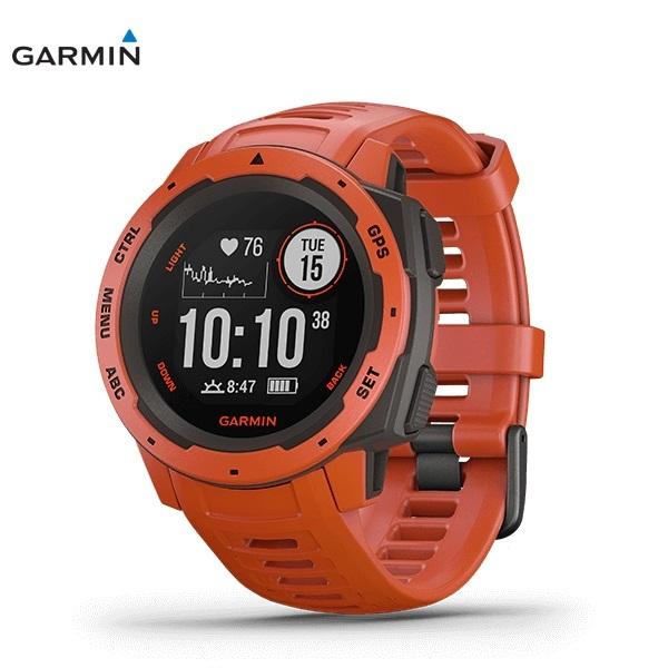 GARMIN Instinct FLAME RED ガーミン インスティンクト フレームレッド 0100206432 _画像1