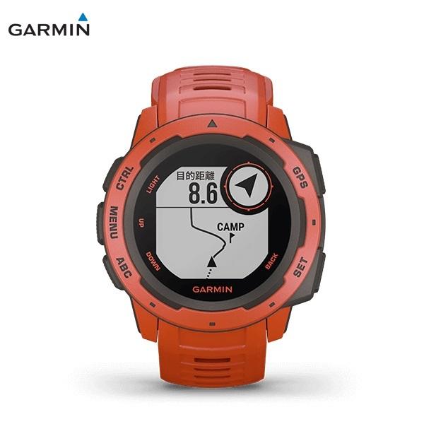 GARMIN Instinct FLAME RED ガーミン インスティンクト フレームレッド 0100206432 _画像2