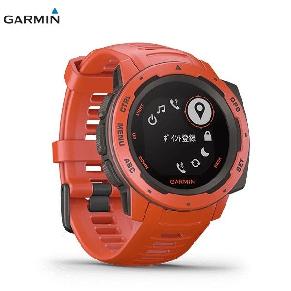 GARMIN Instinct FLAME RED ガーミン インスティンクト フレームレッド 0100206432 _画像3