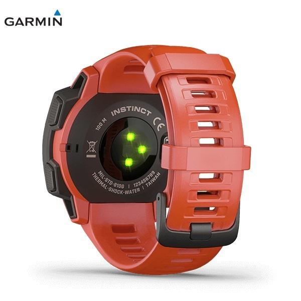GARMIN Instinct FLAME RED ガーミン インスティンクト フレームレッド 0100206432 _画像4
