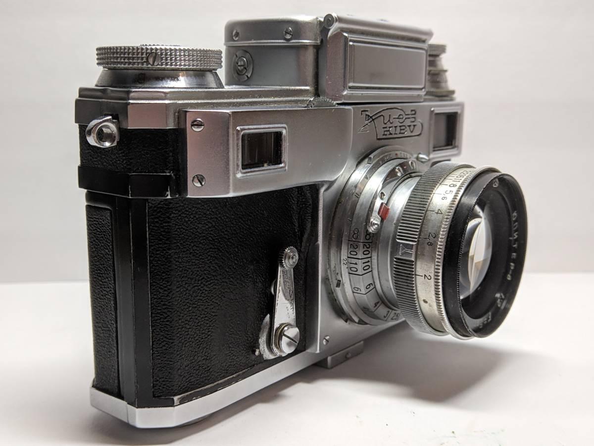 極上の KIEV キエフー3 コンタックスジュピター8 CONTAX 50mm SONNAR #1246B_画像4