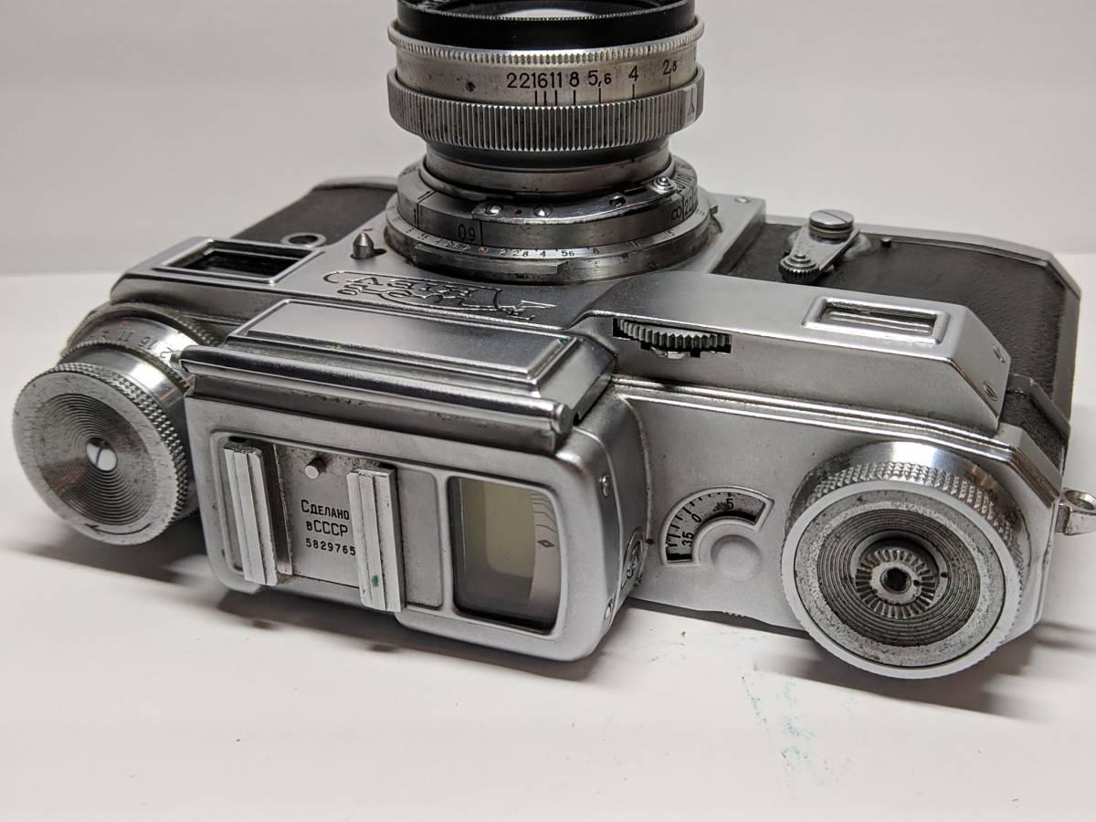 極上の KIEV キエフー3 コンタックスジュピター8 CONTAX 50mm SONNAR #1246B_画像5