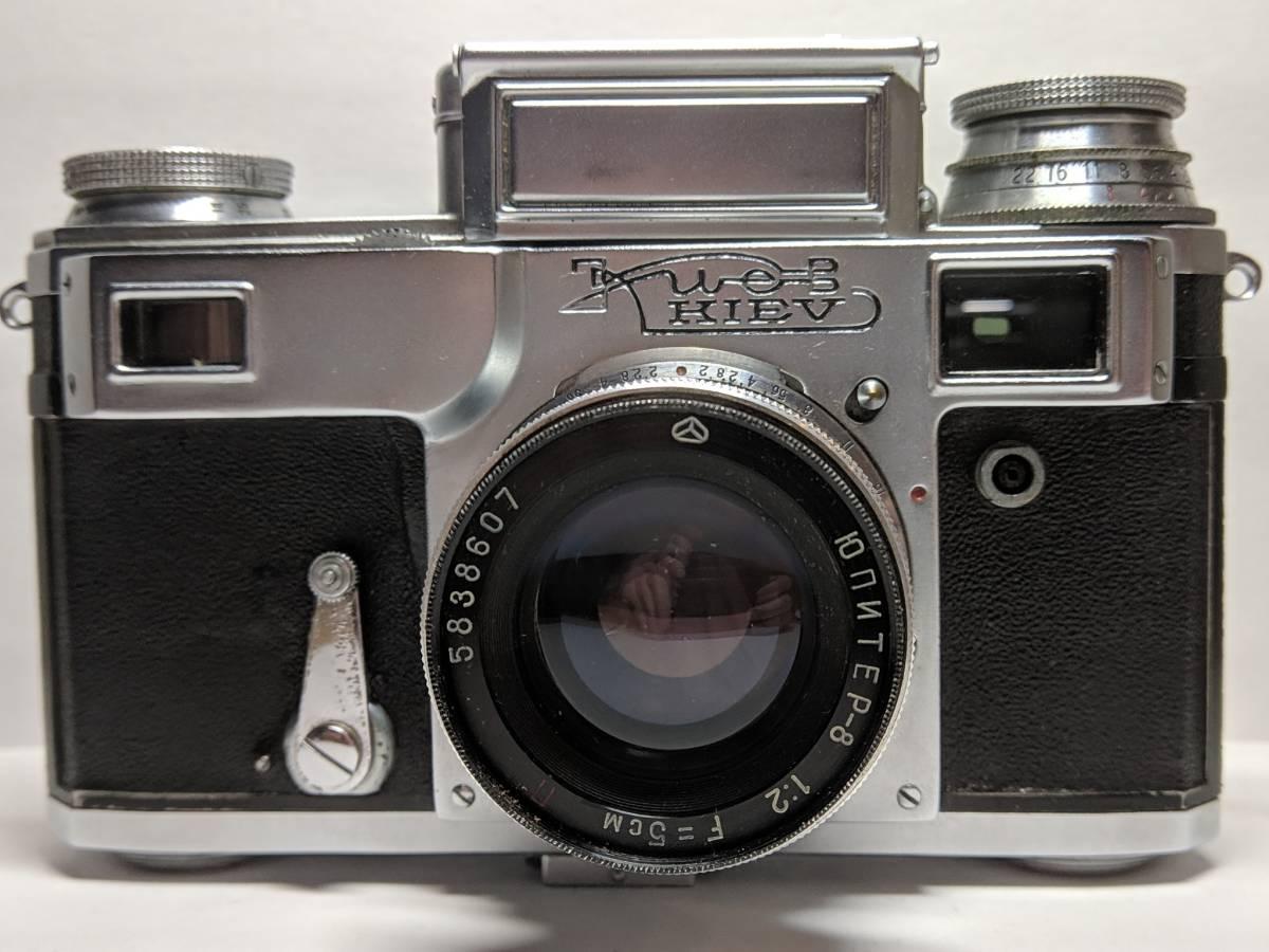 極上の KIEV キエフー3 コンタックスジュピター8 CONTAX 50mm SONNAR #1246B_画像3