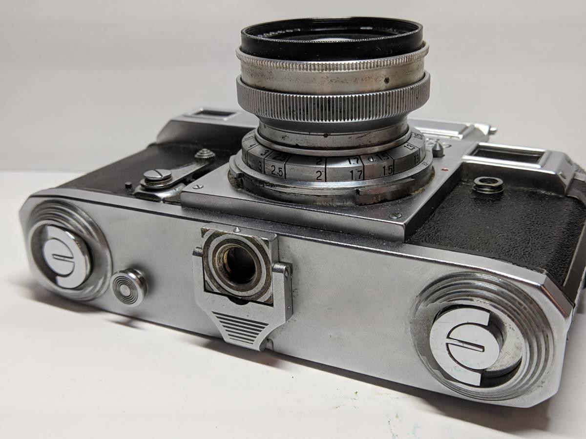 極上の KIEV キエフー3 コンタックスジュピター8 CONTAX 50mm SONNAR #1246B_画像6