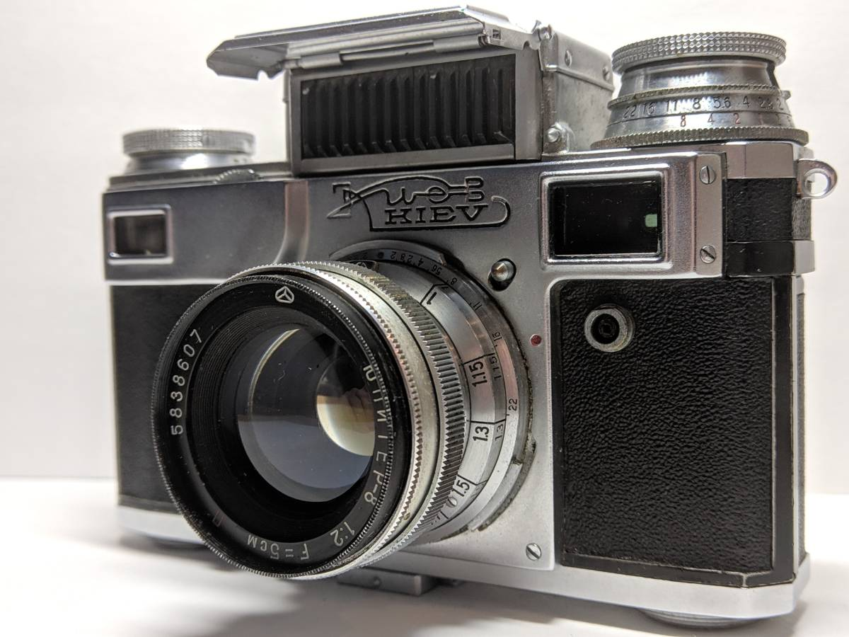 極上の KIEV キエフー3 コンタックスジュピター8 CONTAX 50mm SONNAR #1246B_画像7