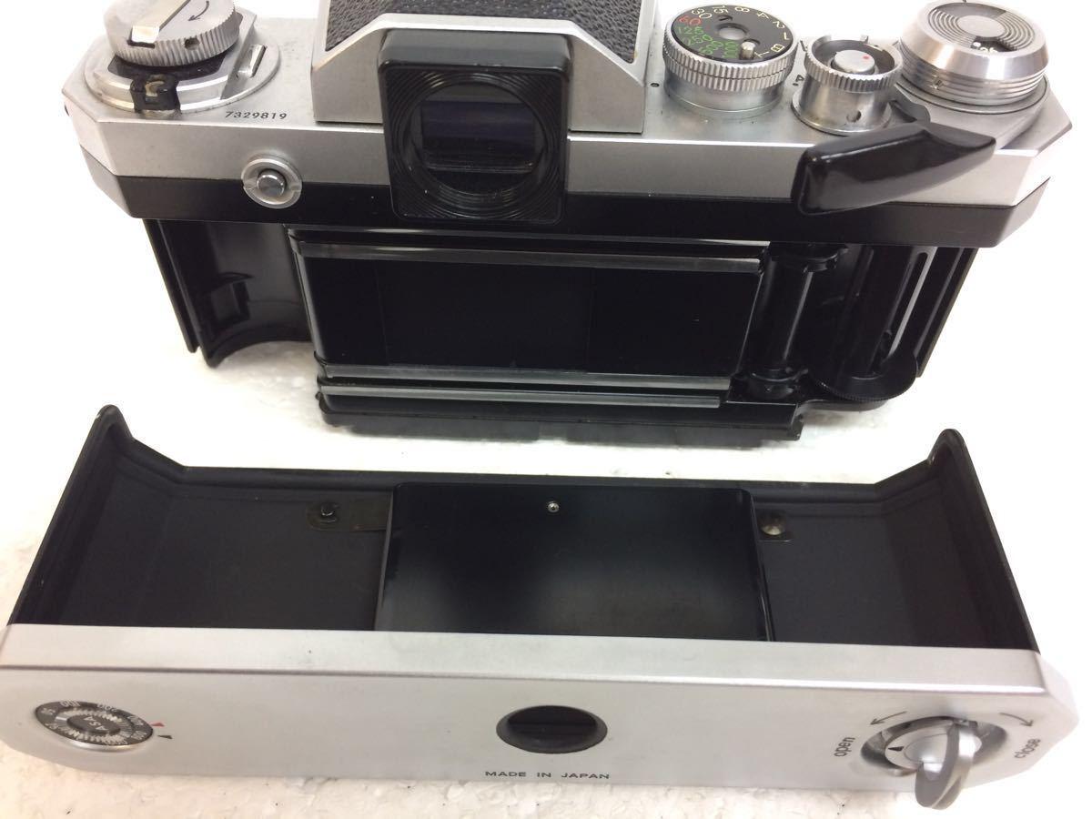 カメラ NIKON (ニコン) F レンズ NIKKOR 28/3.5 135/3.5 50/1.4 ストロボ SB-2 reref-d 1225-12_画像4
