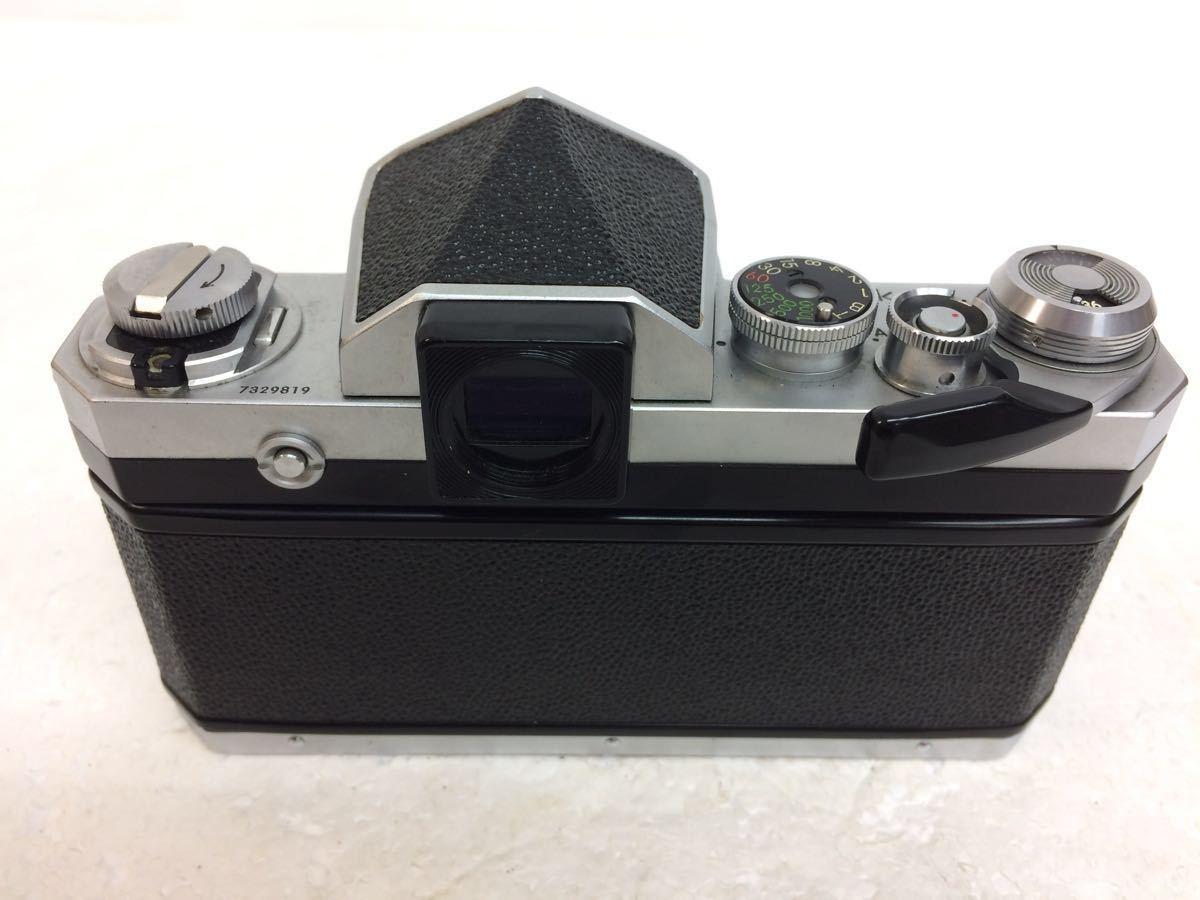 カメラ NIKON (ニコン) F レンズ NIKKOR 28/3.5 135/3.5 50/1.4 ストロボ SB-2 reref-d 1225-12_画像3