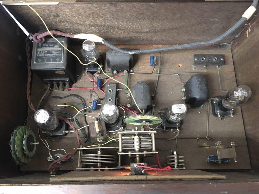ラジオ エリミネーター NO.129 アンティーク 真空管 中古品 reref-d 1226_画像5
