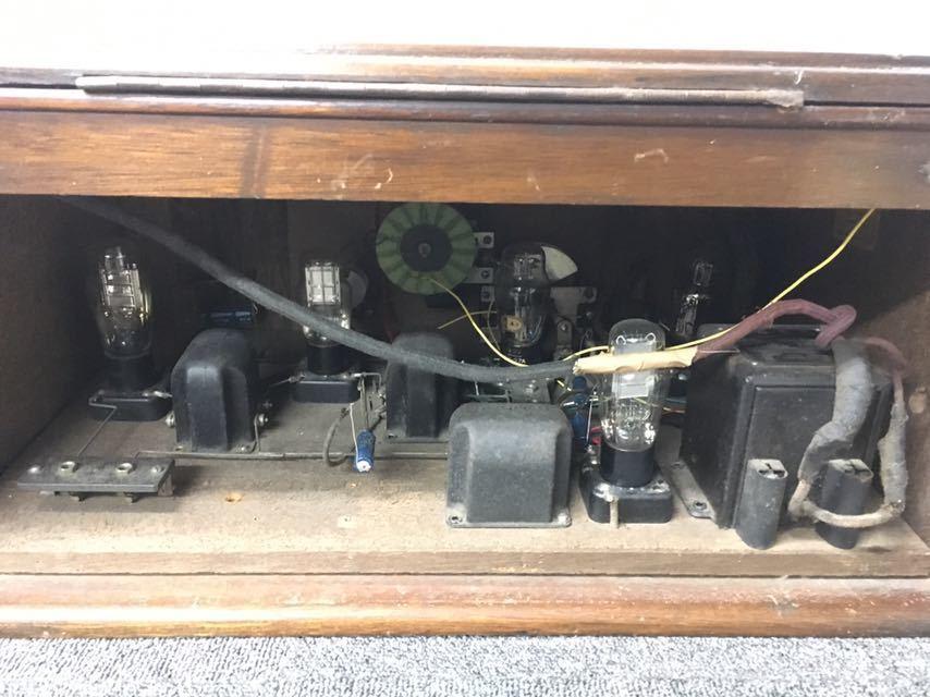 ラジオ エリミネーター NO.129 アンティーク 真空管 中古品 reref-d 1226_画像10