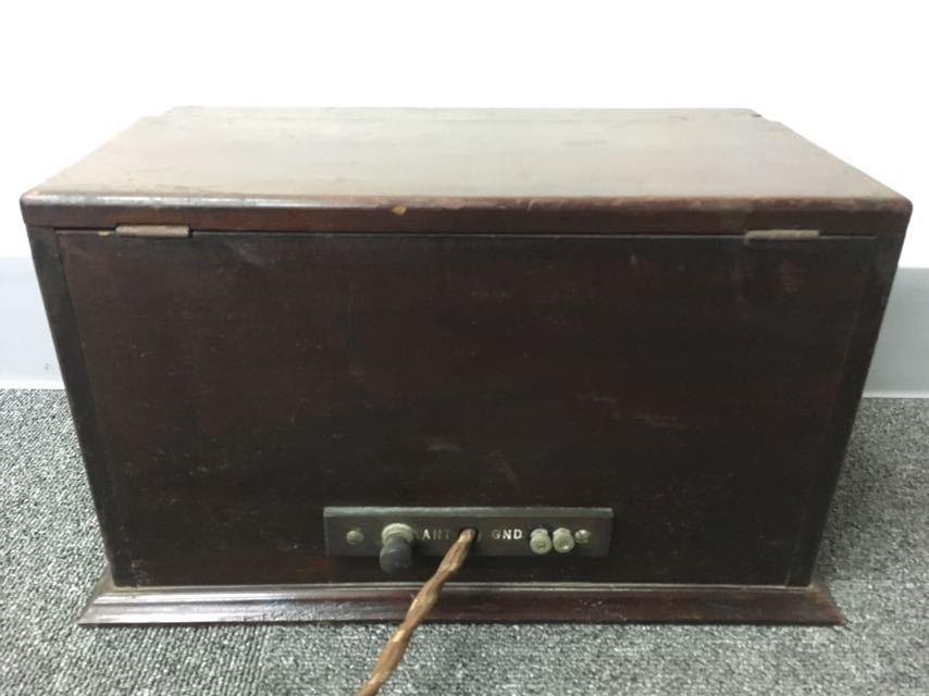 ラジオ UNIVERSAL TRIRDYNE 新案特許 アンティーク 真空管 中古品 reref-d 1226_画像8