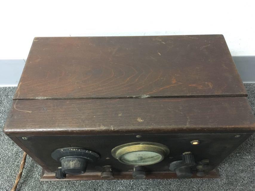 ラジオ UNIVERSAL TRIRDYNE 新案特許 アンティーク 真空管 中古品 reref-d 1226_画像5